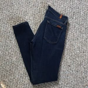 7 For All Mankind The Skinny Jean in size 25